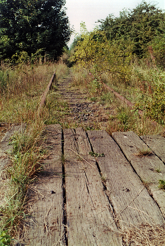 abandoned mine branch line